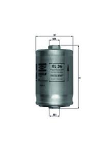 Kraftstofffilter Mahle KL 36