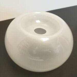 lampenglas 15 lampenschirm wei ersatzglas tischleuchte lampen rund milchglas ebay. Black Bedroom Furniture Sets. Home Design Ideas