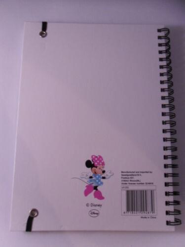 Neu Notizbuch Ringbuch Disney Minnie Sweet DIN A5