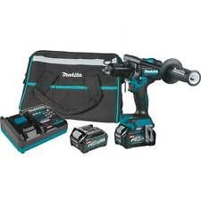Makita Gph01d 40v Max Xgt 12 Brushless Cordless Hammer Driver Drill Kit