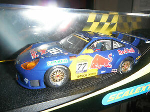 SCALEXTRIC-PORSCHE-911-GT3R-RED-BULL-C2275-NEW-IN-BOX-VERY-RARE