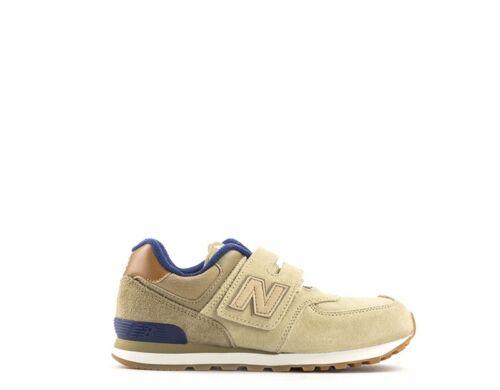 en Shoes Kv574nmy New beige Baskets enfants Balance daim tissu CwI8qIH5x