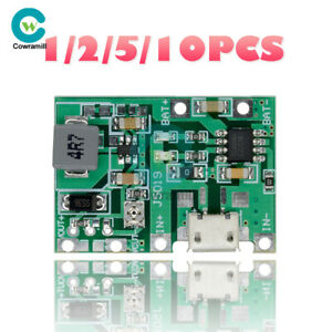 1-2-5-10PCS-Battery-Charger-Board-DC-3-7V-4-2V-Step-Up-18650-Li-ion-Boost-Module