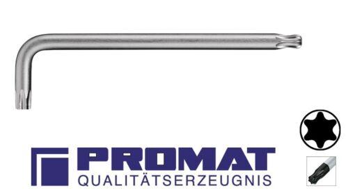 PROMAT TX Winkelschraubendreher TORX T 9,10,15,20,25,27,30,40+45