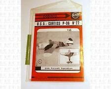 ABT Modeles 1:72 Scale Decals United States Curtiss Hawk 75A P-36 Aircraft 22