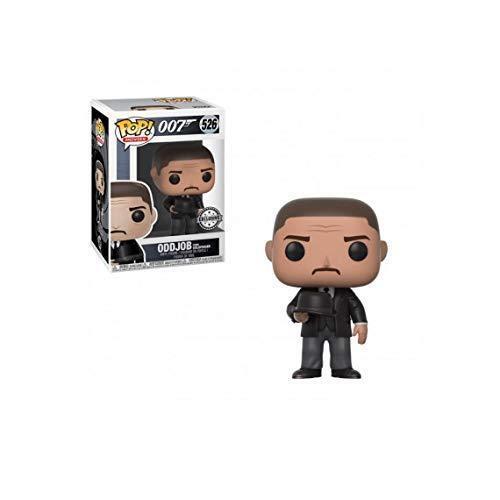 Funko POP Movies James Bond Goldfinger Oddjob Hat  Pop Protector