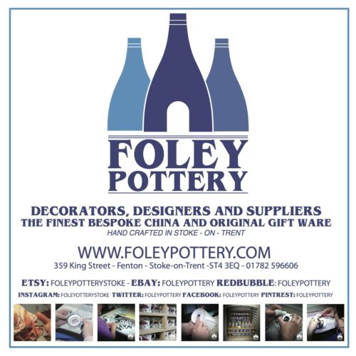 Bramall Lane FFG: Sheffield United Foley Pottery inspired bone China Bauble
