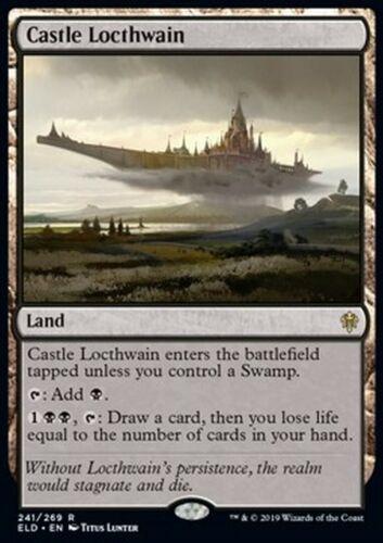 Mrm fr//vf locthwain castle-castle locthwain mtg magic eld