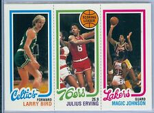LARRY BIRD / JULIUS ERVING / MAGIC JOHNSON 1996 TOPPS STARS 1980 REPRINT SP