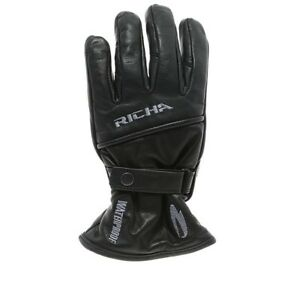 wholesale outlet the cheapest most popular Details about Richa Avenger Leather Waterproof Cruiser Touring Motorcycle  Motorbike Gloves