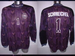 Image is loading Denmark-SCHMEICHEL-Shirt-Jersey -Football-Soccer-Hummel-Adult- 8a95ddcb5