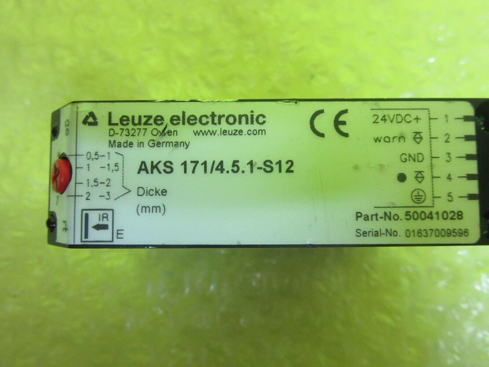 Leuze iocsc 740//6-450.01-s12 used