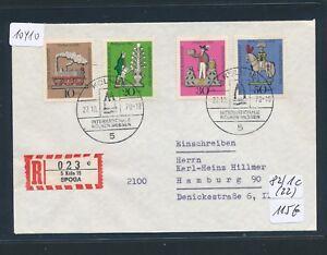 10410) Spécial R-ticket De Cologne Spoga, Lettre Sst 27.10.70, Rr!!!-afficher Le Titre D'origine