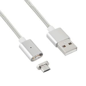 magnet kabel ladeger t micro usb ladekabel adapter f r android samsung htc ebay. Black Bedroom Furniture Sets. Home Design Ideas