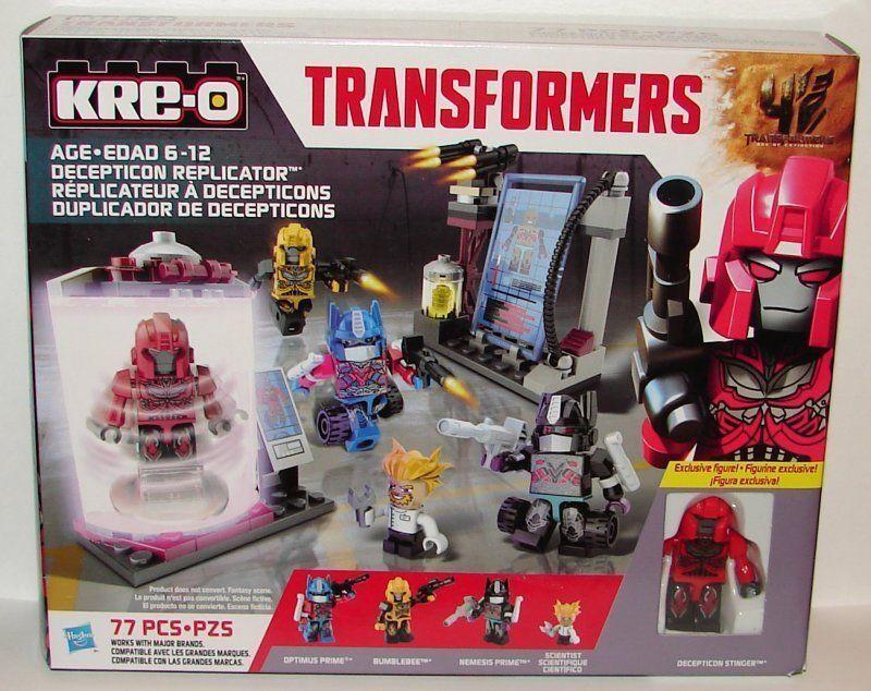 KRE -O KREON A8601 transformers AOE DECEPTICON REFLICATOR MISSB SEALD NY