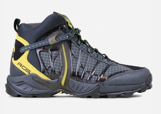 Nike air zoom acg tallac lite og schwarz / anthrazit / gelb 844018-001