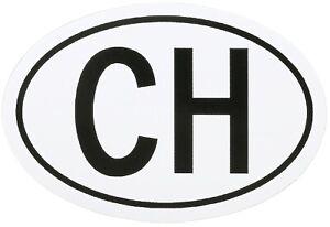 HR-IMOTION-Sticker-Schweiz-CH-Schild-Kennzeichen-Kleber-Aufkleber-13-5-cm