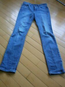 Details zu Designer Damen Jeans Cambio grau mit Pailletten Größe M 38 40