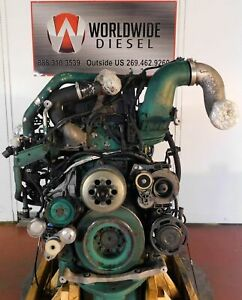 2009 Volvo D13 Diesel Engine Take Out, 405 HP, Good For Rebuild Only.