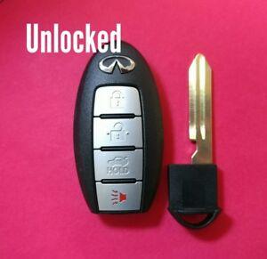 Details about OEM Infiniti Q50 Smart Key Keyless Remote 4B Trunk  KR5S180144203