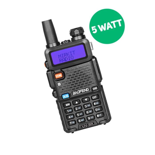 Baofeng Uv-5r Mk2 2018 Handheld Dual Band Two Way Ham Radio Mirkit Edition