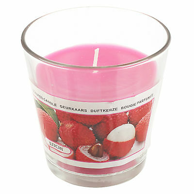 24 Hour Fragrant Long Burn Time Scented Wax Candle in Glass Jar Cup - 12 Flavour