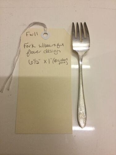 Onieda Tudor Plate Queen Bess Silverplate Salad Fork Sold Each Fw11