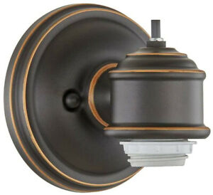 1 Light Wall Sconce Fitter Lighting Fixture Oil Rubbed ...