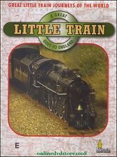 A GREAT Little Train Goes to ENGLAND - Railway TRAINS Journeys - DVD NEW SEALED