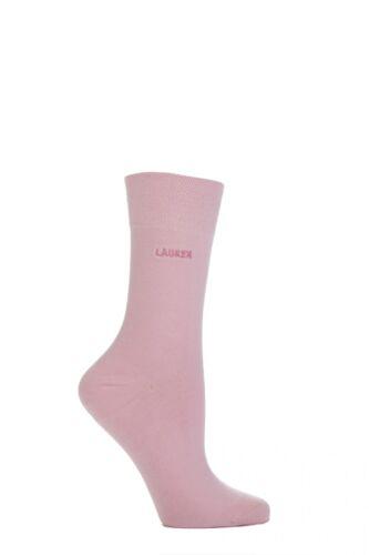 Ladies 1 Pair SockShop Individual Names Pink Embroidered Socks