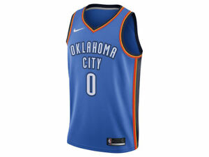 283551eb77ca Oklahoma City Thunder Russell Westbrook Nike NBA Men s Icon Swingman ...