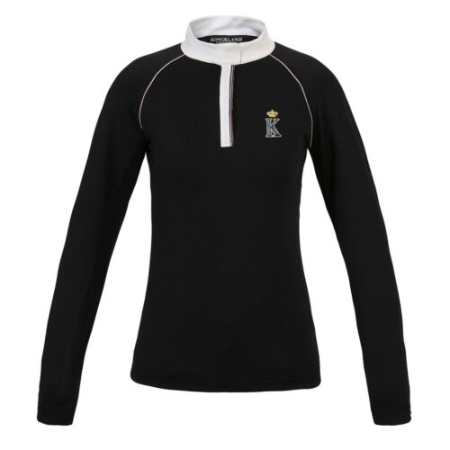 Ladies Stylish Shirt Equestrian Navy Sleeved Long Spezia Show Comfortable Kingsland vdXq6Pwv