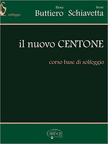 Libro nuovo centone corso base di solfeggio Buttiero Schiavetta