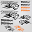 Thundercat-stickers-decal-snowmobile-arctic-cat-snowboard-quad-tuning-helmet miniature 15