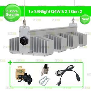 1x SANlight Q4W S2.1 Gen2 165W + Easy Rolls + Netzkabel + Karabiner + Dimmer