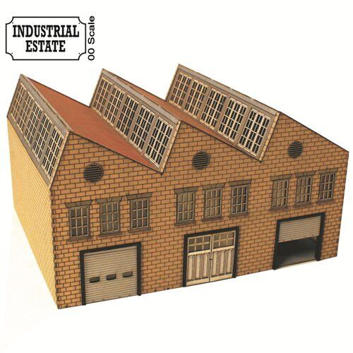 4Ground OO Gauge Palmer Road Warehousing Laser Cut Kit OOIE101