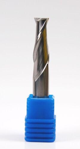 "Square-end 2-flutes,Regular-length 15//64/"" Carbide End Mill"