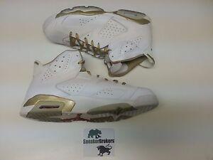 adcfcc0c662c Nike Air Jordan 6 VI Retro Black Gold GMP Golden Moments Size 17 ...