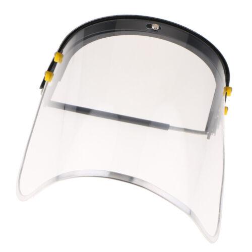 Bionic Gesichtsschutz mit klarem Polycarbonat Visier und Anti-Fog //