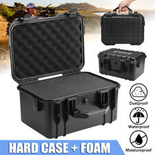 Waterproof Storage Box Plastic Hard Carry Tool Case Camera Photography With