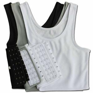 Women-Buckle-FTM-Short-Chest-Breast-Binder-Lesbian-B5Q7-F-Plus-Tomboy-size-G1E4