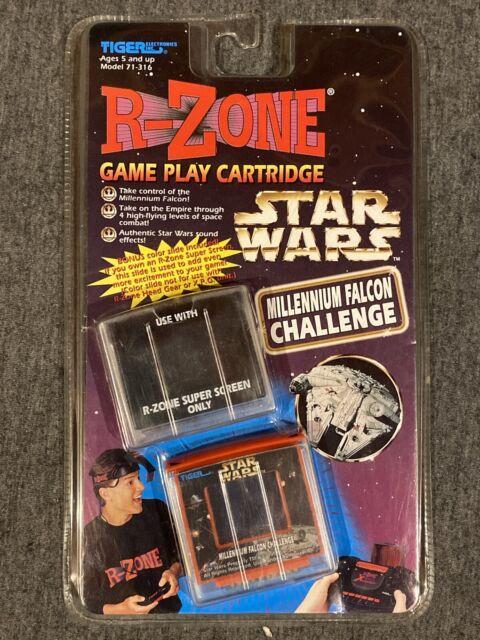 Tiger R-zone Game Cartridge Star Wars Millennium Falcon ...