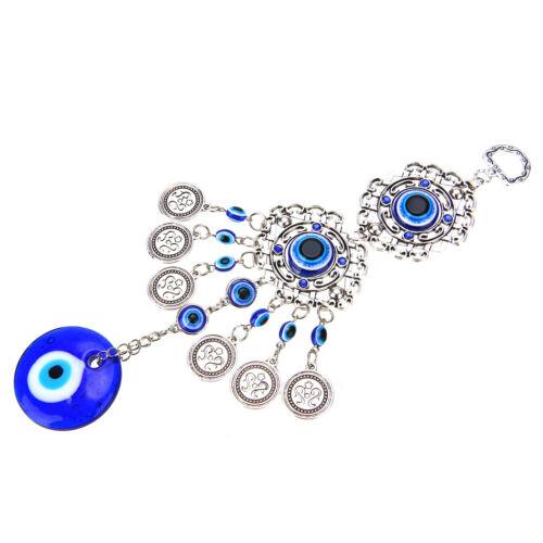 15 Styles Turkish Evil Eye Amulet Wall Hanging Lucky Xmas Pendant Ornament Decor