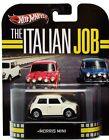 1/64 Hot Wheels Retro The Italian Job White Morris Mini