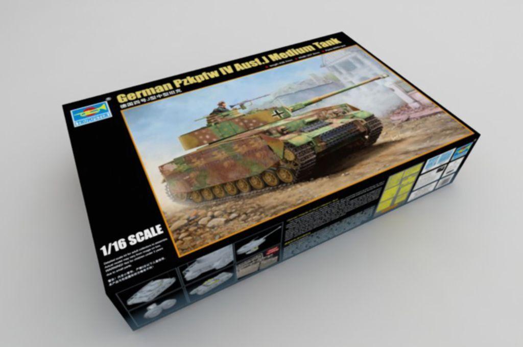 ◆Trumpeter 1 16 00921 Pz.Kpfw.IV Ausf.J German Medium Tank model kit