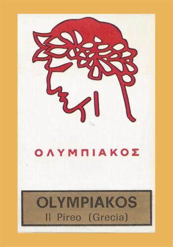 143 CALCIATORI PANINI 1971-72 OLYMPIAKOS SCUDETTO Rec Figurina-Sticker n