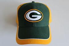 Green Bay Packers NFL Football Team Apparel Cap Berretto Taglia Unica Chiusura in Velcro