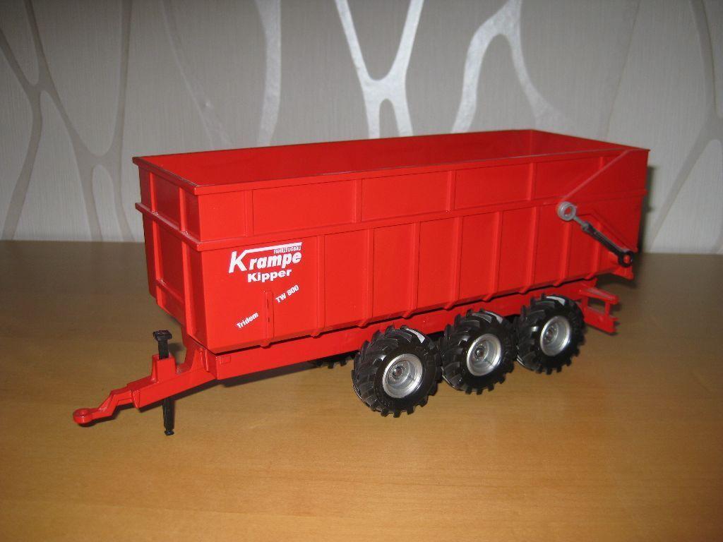 Siku 2966 Dreiachs-Muldenkiper Version 1 in red red von 2000-2001