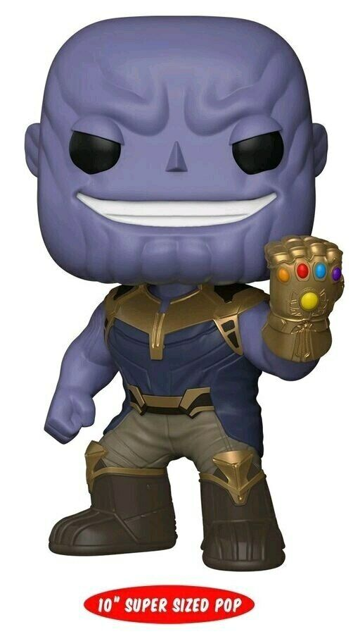 Avengers 3  Infinity War  Thanos 10 US Exclusive Pop  Vinyl [RS]divertiessito28893