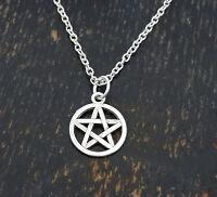 Pentagram Necklace, Pentagram Charm, Pentagram Pendant, Pentagram Jewelry,gothic